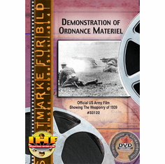 Demonstrations Of Ordnance Materiel,  Aberdeen Proving Grounds, Maryland  (USA, 1939)
