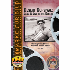 Desert Survival: Land & Live in the Desert DVD (Craig Stevens/Van Heflin)