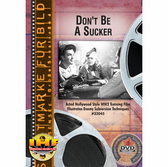 Don't Be A Sucker DVD