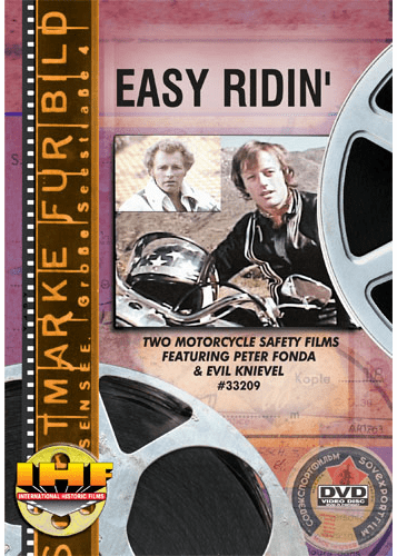 Easy Ridin' DVD (Two Motorcycle Safety Films featuring Peter Fonda & Evil Knievel)