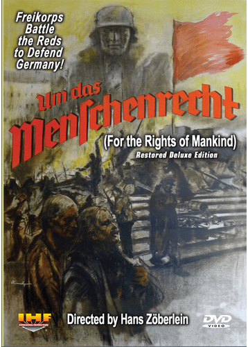 For the Rights of Mankind DVD (Um das Menschenrecht)  (Hans Zöberlein, 1934)