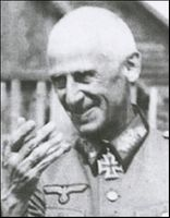 """* German Panzer Group Leader Colonel General Hermann """"Papa"""" Hoth"""