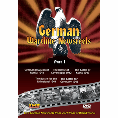 German Wartime Newsreels Part 1 (DVD with PPR Certificate)