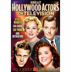 Great Hollywood Actors on Television Volume 1 DVD