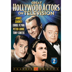 Great Hollywood Actors on Television Volume 2 DVD