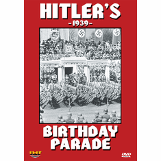 Hitler's Birthday Parade  (50th birthday: April 20th, 1939) (DVD with PPR & DSL Certificates)