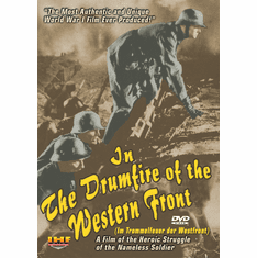 In the Drumfire of the Western Front (Im Trommelfeuer der Westfront) C. Kayser, 1936 (DVD with PPR & DSL Certificates)