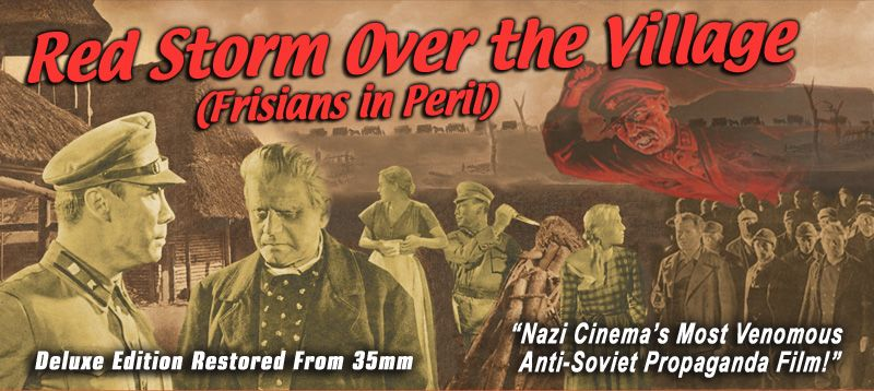 Red Storm Over the Village (Frisians in Peril) DVD (Frisennot)