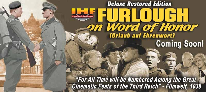 Furlough on Word of Honor DVD