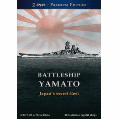 Battleship Yamato Japan's Secret Fleet DVD