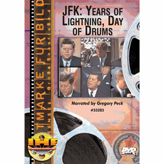 JFK: Years of Lightning, Days of Drums DVD