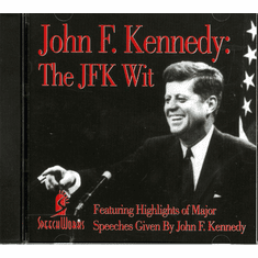John F.Kennedy: The JFK WIT (Highlights Of Major Speeches) (CD)