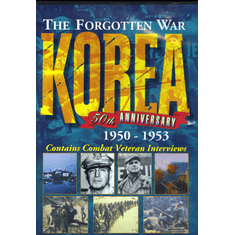 Korea: The Forgotten War  DVD