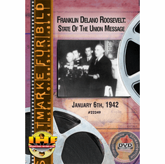 Franklin Delano Roosevelt: State of the Union Message, January 6, 1942 DVD