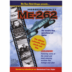 Messerschmitt ME-262: The Official Luftwaffe Pilot Check-Out Film (DVD)