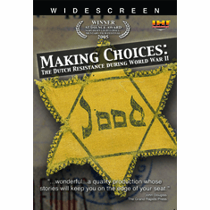 Making Choices: The Dutch Resistance During WW2 (DVD with PPR & DSL Certificates)