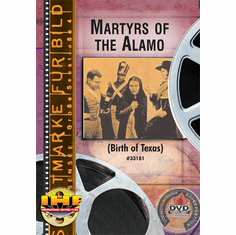 Martyrs of the Alamo (Birth of Texas) DVD & Davy Crocket Fall of the Alamo