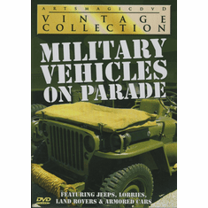 Military Vehicles on Parade DVD