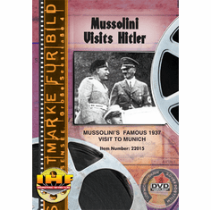 Mussolini Visits Hitler (Berlin Olympic Stadium, 1937)  (DVD with PPR Certificate)