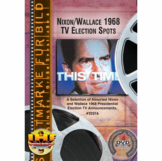 Nixon-Wallace 1968 TV Election Spots DVD
