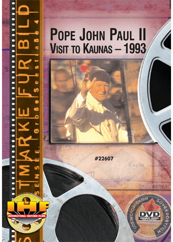 Pope John Paul II Visit to Kaunas - 1993 DVD