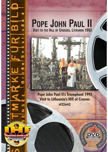 Pope John Paul II Visit to the Hill of Crosses, Lithuania 1993 DVD