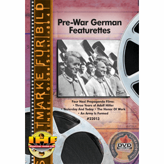 Pre-War German Featurettes (Nazi Propaganda) DVD Educational Edition