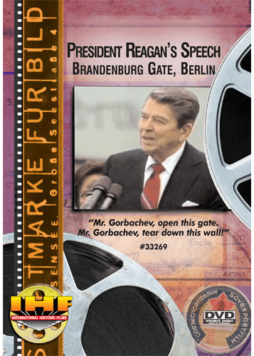 President Reagan's Speech - Brandenburg Gate, Berlin DVD