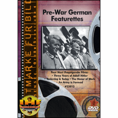 Prewar German Featurettes DVD Review by Blaine Taylor
