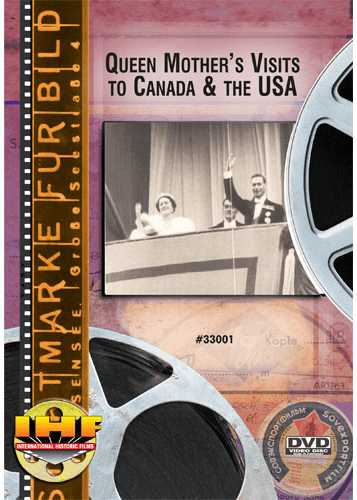 Queen Mother's Visits to Canada & the United States (1939 & 1954) DVD