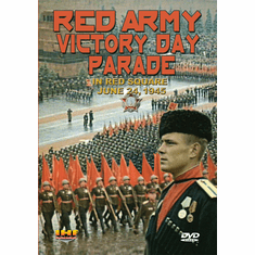 Red Army Victory Parade in Red Square June, 1945  (DVD with PPR & DSL Certificates)