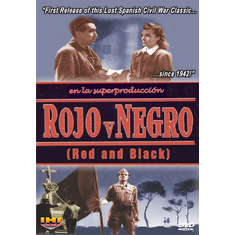 Rojo Y Negro (Red and Black) DVD (Carlos Arevalo 1942) (DVD with DSL Certificate)