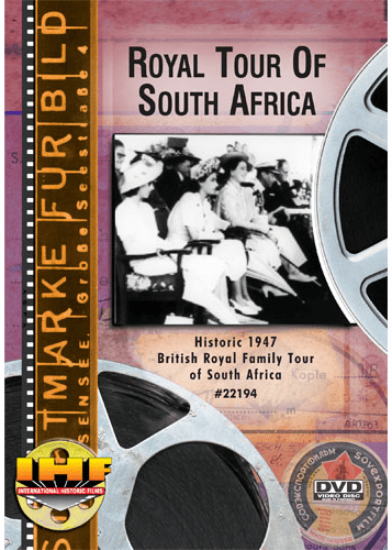 Royal Tour Of South Africa DVD