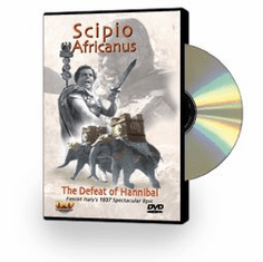 Scipio Africanus/Scipio The African: The Defeat Of Hannibal DVD Review by Blaine Taylor