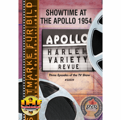 Showtime at the Apollo 1954 DVD