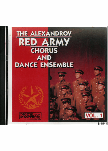 The Alexandrov Red Army Chorus And Dance Ensemble Vol. 1 CD