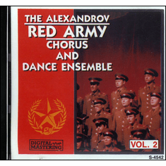 The Alexandrov Red Army Chorus And Dance Ensemble Vol. 2 CD