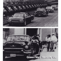 * The Dallas Queen Mary Security Car And Where It Is Today