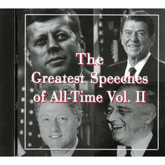 The Greatest Speeches of All-Time Vol. 2 CD
