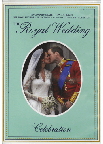 The Royal Wedding: His Royal Highness Prince William And Miss Catherine Middleton DVD