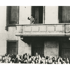 "* ""The Speer Balcony"" On The Old Reich Chancellery In Berlin"