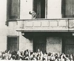 """* """"The Speer Balcony"""" On The Old Reich Chancellery In Berlin"""