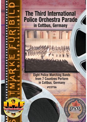 The Third International Police Orchestra Parade In Cottbus, Germany (Military Tattoo) DVD