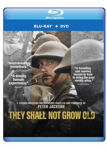 They Shall Not Grow Old DVD (Blu Ray/DVD Combo Pack)