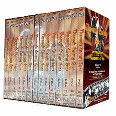 Through Enemy Eyes (German Newsreels)<BR> Complete 14 Volume DVD Set Educational Edition