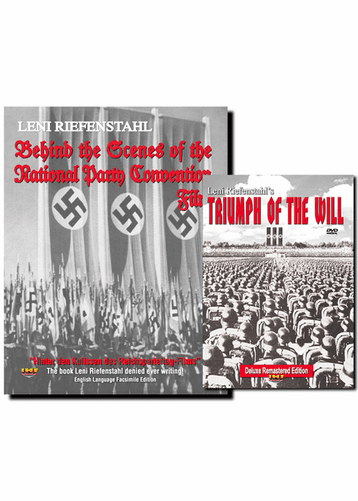 Triumph of the Will (Remastered IHF Deluxe Edition) DVD AND Behind the Scenes Book Combo Set