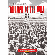 Triumph of the Will (Triumph Des Willens)(Leni Riefenstahl, 1935) Remastered Deluxe (DVD with PPR Certificate)