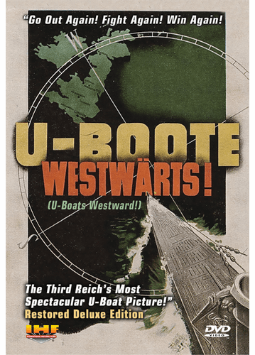 U-Boote Westwärts! (U-Boats Westward!) (DVD with PPR & DSL Certificates)