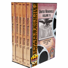 United Newsreels 5 DVD Set (Volumes 11-15)
