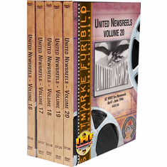 United Newsreels 5 DVD Set (Volumes 16-20)